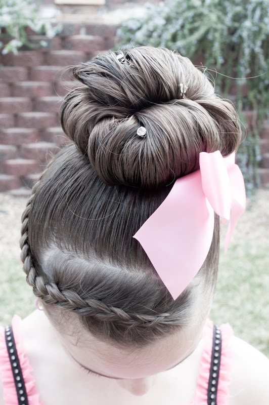 cute hair style for dance recitals Alison