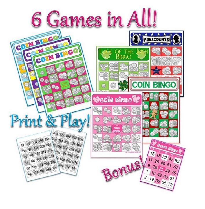 valentine bingo game for kindergarten
