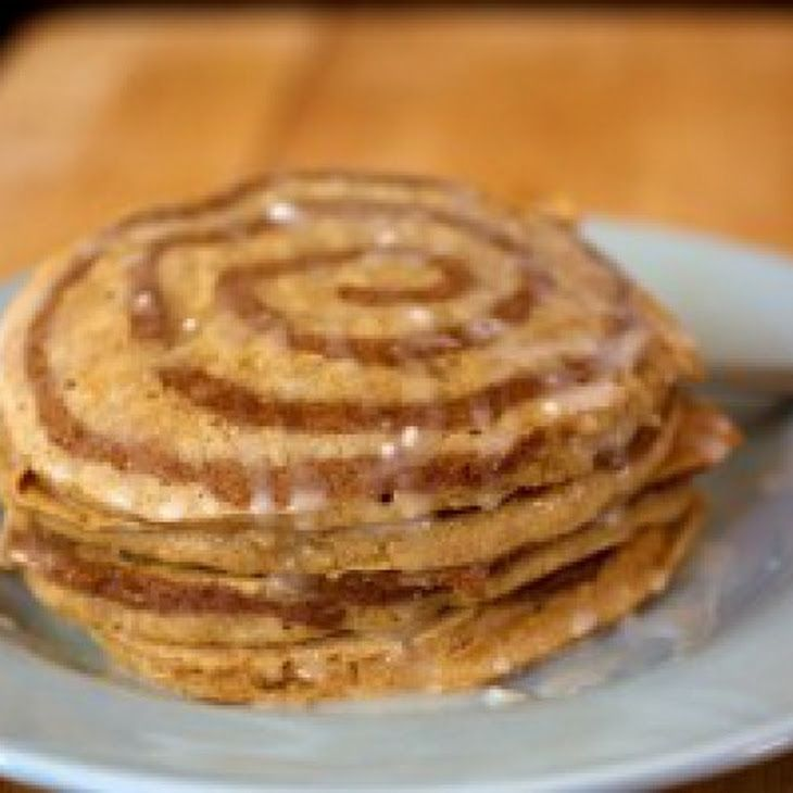 Cinnamon Swirl Pancakes Recipe | Breakfast | Pinterest