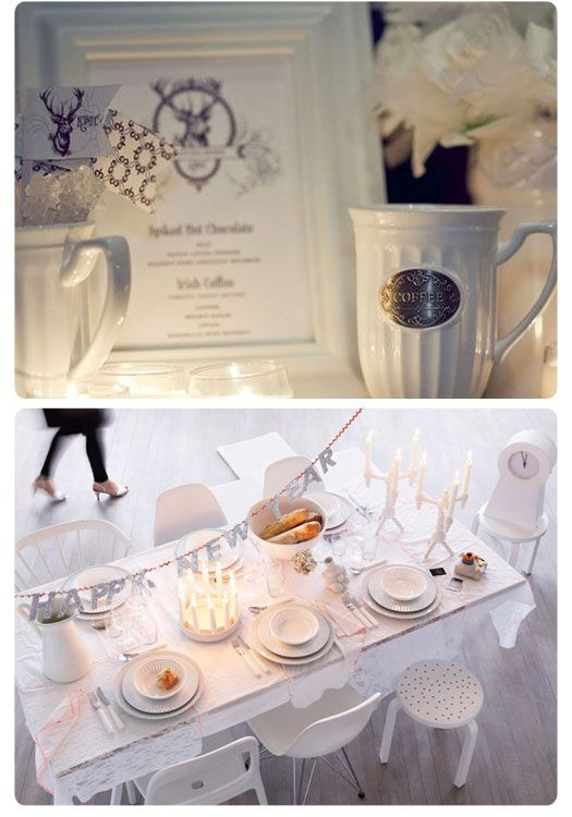 new years eve party table setting and blog- ... | New Year party ideas