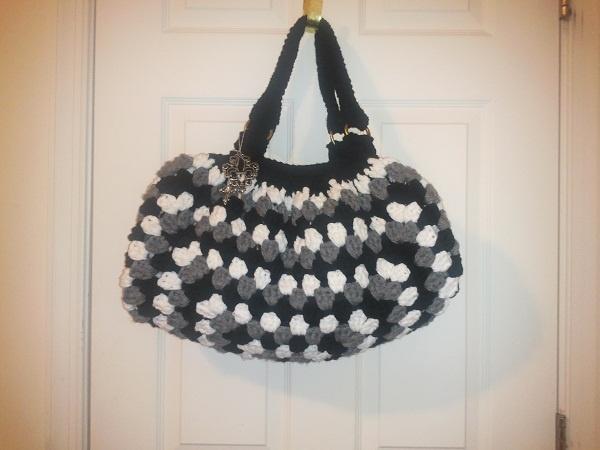 Crochet Granny Bottom Bag My Favorite Crochet & Craft Ideas Pinte ...