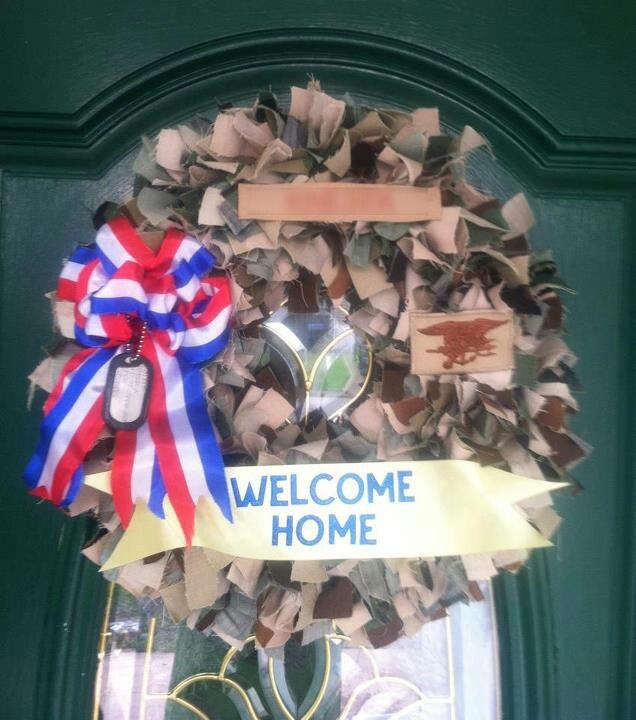 Army welcome home cake ideas and designs for Military welcome home party decorations