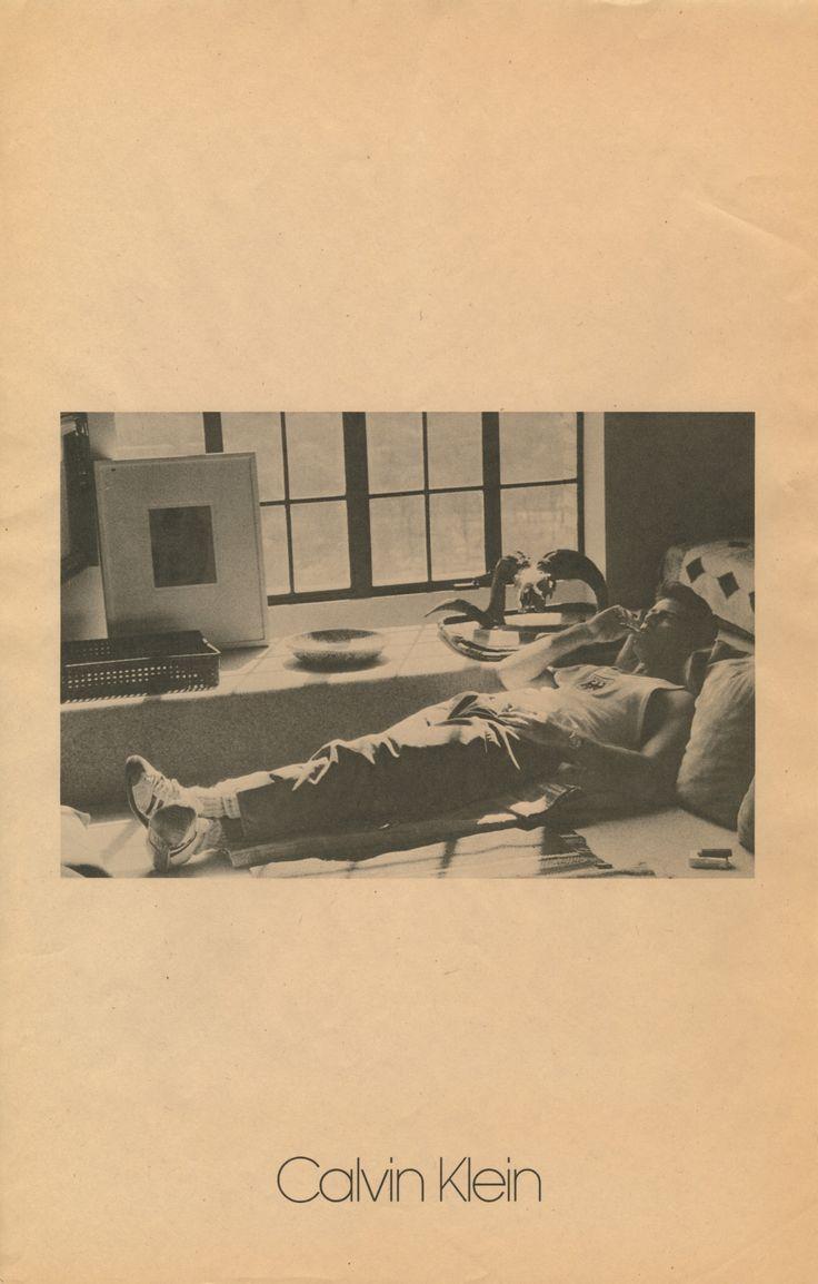 Calvin Klein, 1982