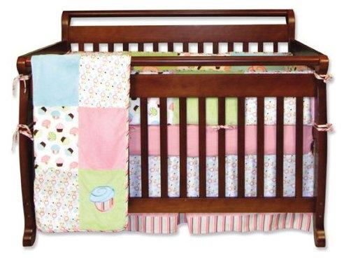 Trend lab baby barnyard 4 piece crib bedding set bed for Best value baby crib
