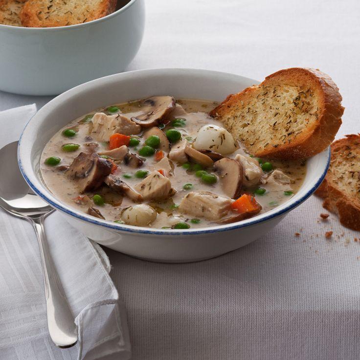 Turkey Pot Pie Soup | Recipes: Soups, Stews and Bowls | Pinterest