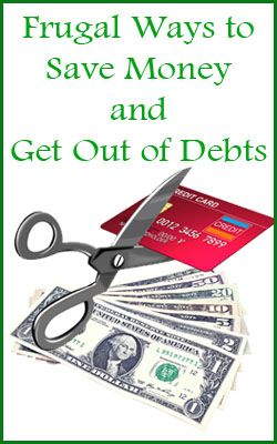 Frugal Ways to Save Money: Tips for Getting Out of Debts http://madamedeals.com/frugal-ways-save-money-getting-debts/ #inspireothers