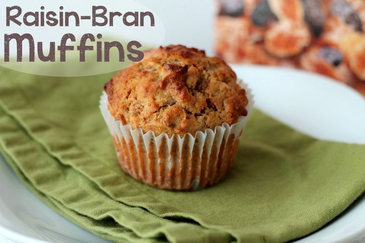 Raisin Bran Muffins | Baked good deliciousness | Pinterest