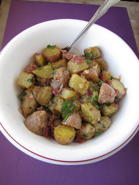 Roasted Potato Salad | Life is Just a Bowl of Salad | Pinterest
