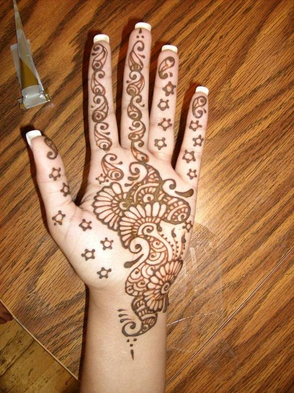 Easy Diy Mehndi Designs : Easy and simple mehndi designs that you can do by yourself