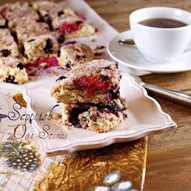 Scottish Oat Scones with Berries | Sugar Daddy | Pinterest