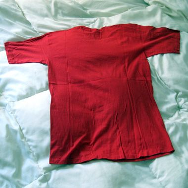 Wrinkly shirt? Throw it in the dryer for a few minutes with some ice cubes for a quick steam press.