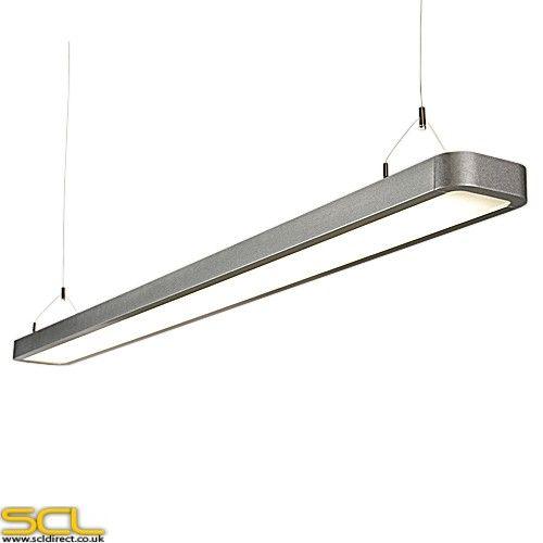 reed 2 x 35 watt t5 suspended fluorescent light fitting. Black Bedroom Furniture Sets. Home Design Ideas