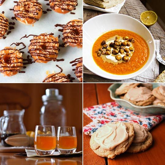 ... Baked Samoa Doughnuts & Roasted Carrot and Tahini Soup — Delicio