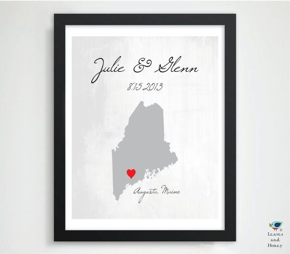 Gift for Newlyweds / Husband / Him // Engagement Gift // Valentines ...