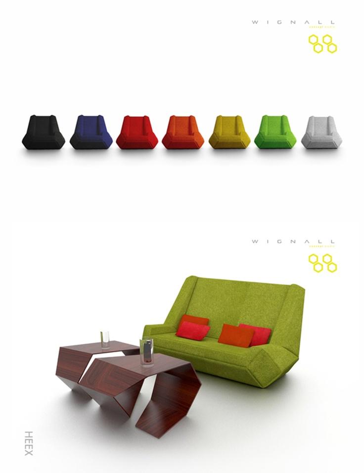 HEEX Series by Edouardo Wignall