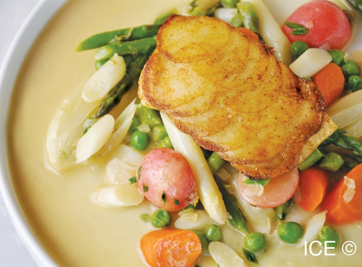 Potato-crusted halibut | Under The Sea | Pinterest