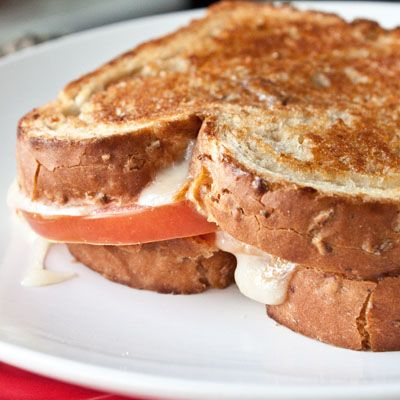 On a grilled cheese kick tonight...Caprese Grilled Cheese Sandwich ...