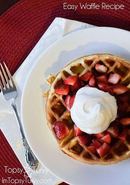 Easy Waffle | Recipe