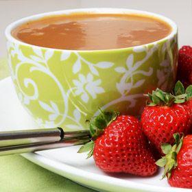 caramel-fondue | Love is in the Air | Pinterest