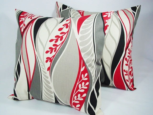 Decorative Pillows Black And Grey : Pinterest