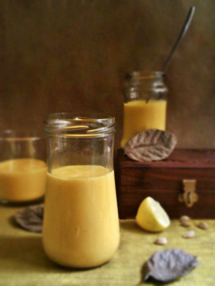 Mango Yogurt Smoothie (Mango Lassi) | Mango | Pinterest