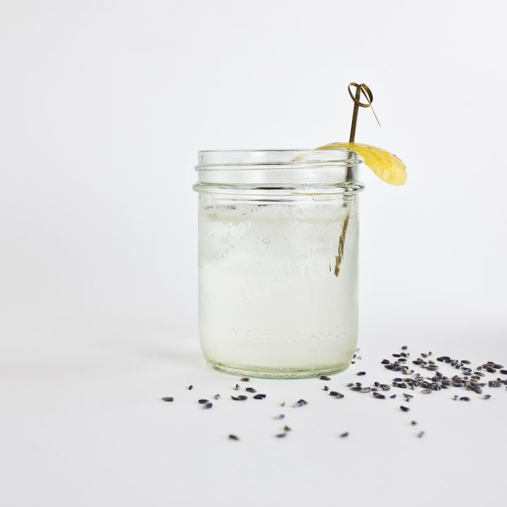 Lavender French 75 | Eventual Kitchen Creations... | Pinterest