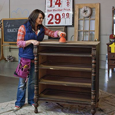 Furniture Face-Lifts: Painting & Refinishing