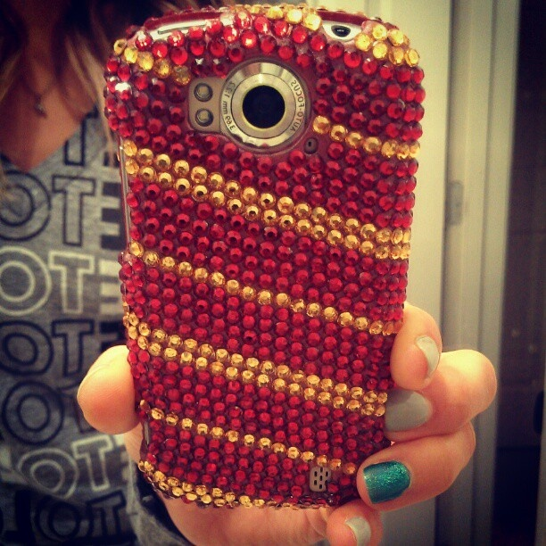Gryffindor Bejeweled PhoneCase! | My FAVORITE Things | Pinterest