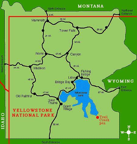 17 Melhores Ideias Sobre Map Of Yellowstone No Pinterest