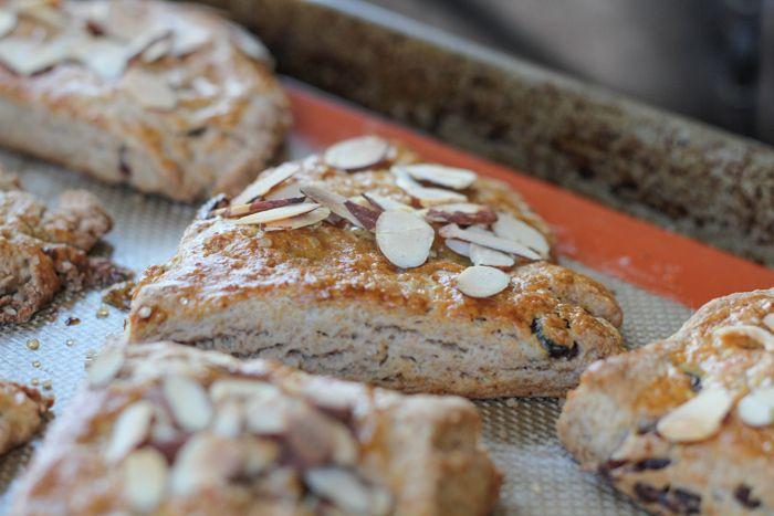 Cranberry Almond Scones | Breakfast | Pinterest