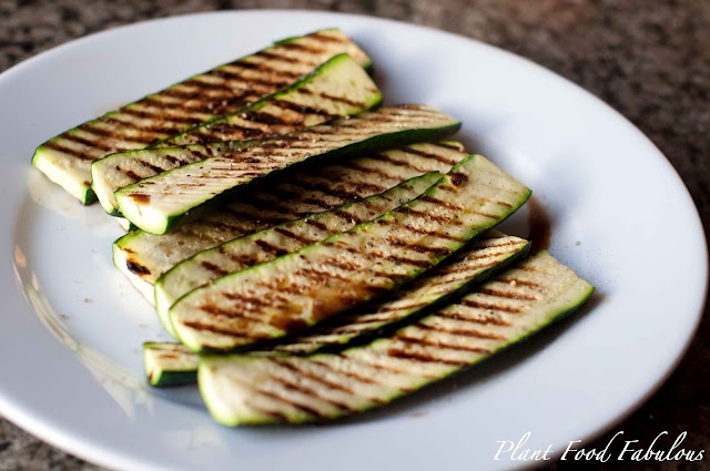Grilled Zucchini with Balsamic Drizzle | Healthier Verisons | Pintere ...