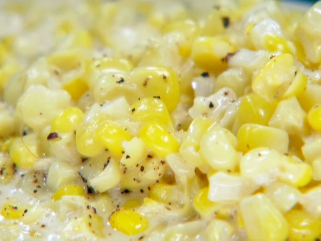 Creamed Corn from Chucks Day Off