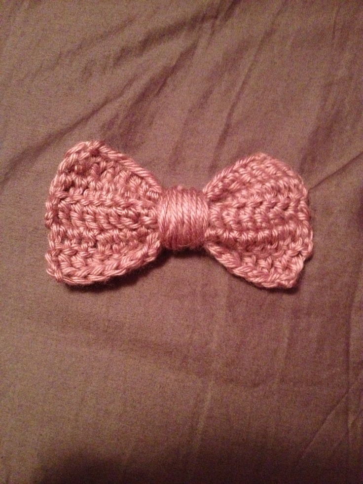 Crochet Hair Bows : Crochet hair bow! Crochet and Other Needlework Pinterest