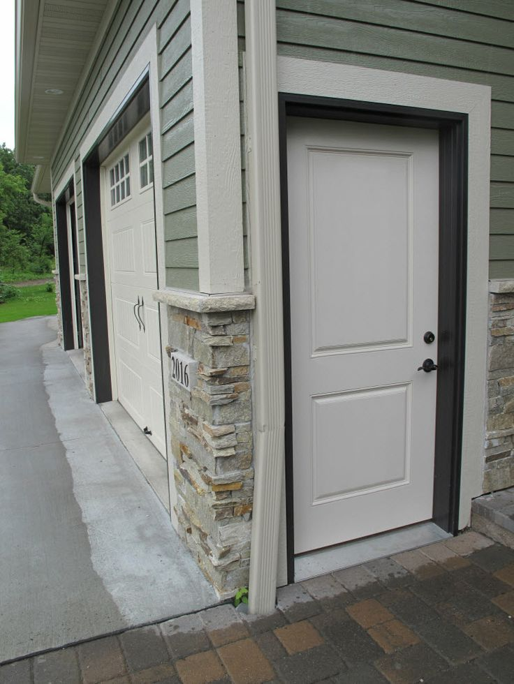 Pin by bayer built woodworks on exterior doors pinterest for Exterior garage doors