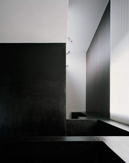 Another view ot the House of Depth by Kouichi Kimura. Great use of black and white.