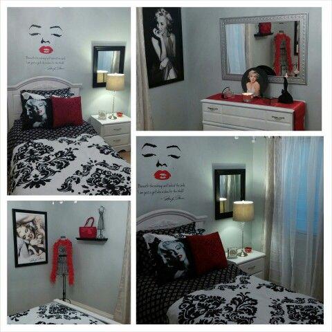 marilyn monroe theme bedroom home design pinterest