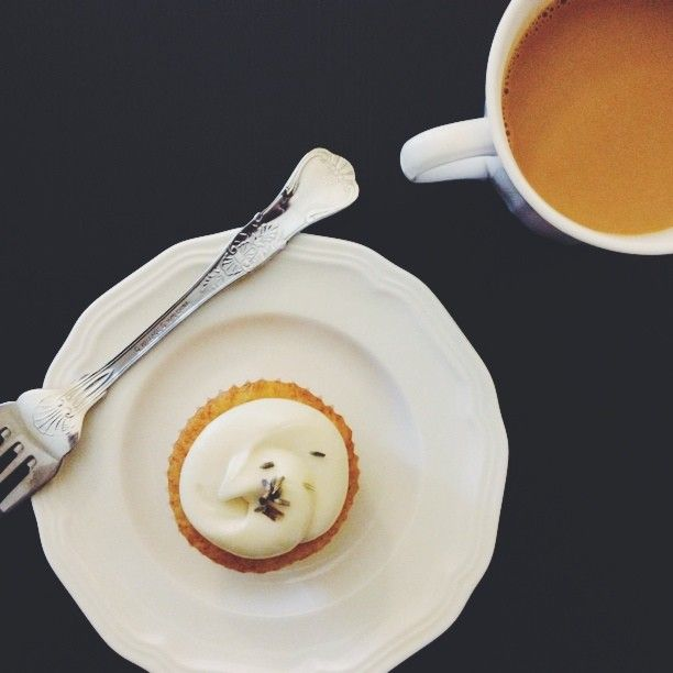 Lavender honey cupcakes. | Cake, Cake I love Cake! | Pinterest