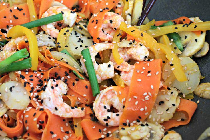 Orange Ginger Shrimp Stir-Fry - I made this tonight & it was excellent ...