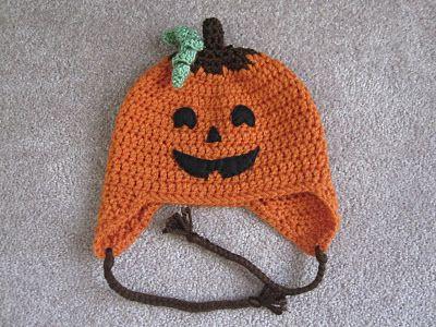 Free Crochet Patterns For Halloween : Halloween Hat Pattern - Jack Crochet - Baby & Children 2 ...