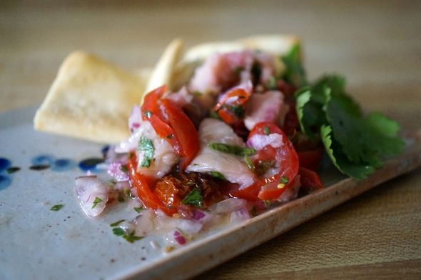 red snapper ceviche | Real Food | Pinterest