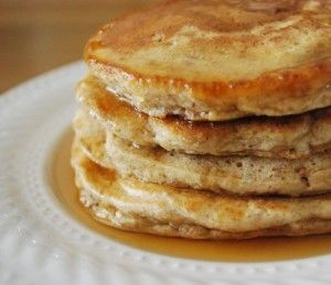 Chai Spiced Pancakes - Buttermilk pancakes laced with chai tea and ...
