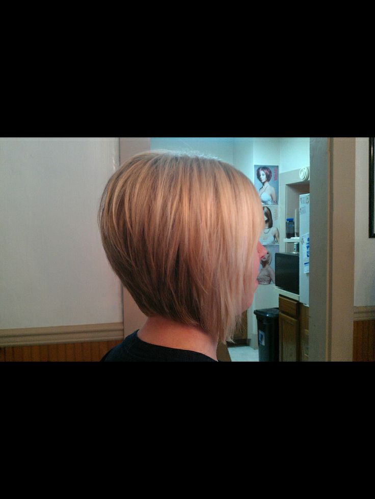 Angled bob haircut. nicely stacked | Fashion | Pinterest