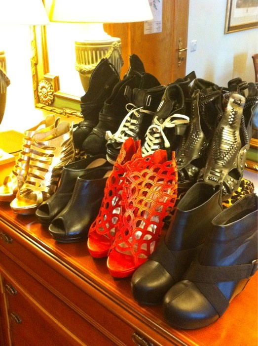 July 2, 2011: These boots are made for Rockin': )
