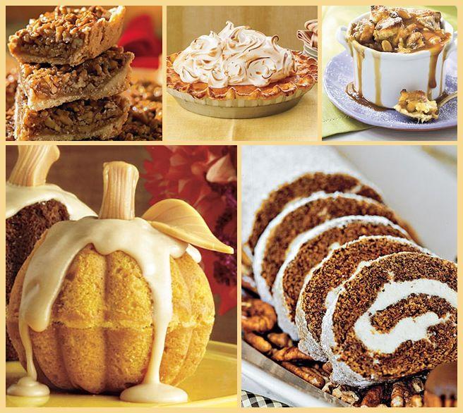 Thanksgiving Desserts Thanksgiving Pinterest
