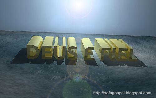 Wallpaper Deus é Fiel