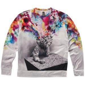 Imaginary Foundation: Study Crew Sweatshirt / The moment you stop