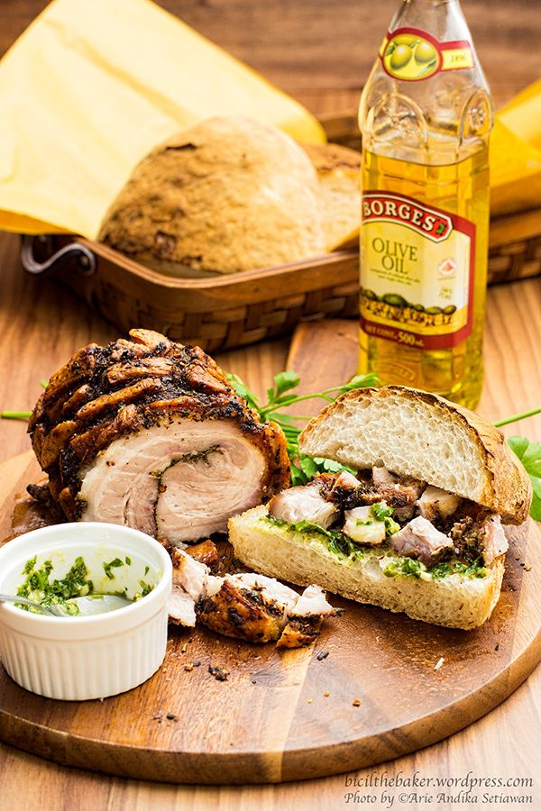 Porchetta Sandwich | cooking | Pinterest