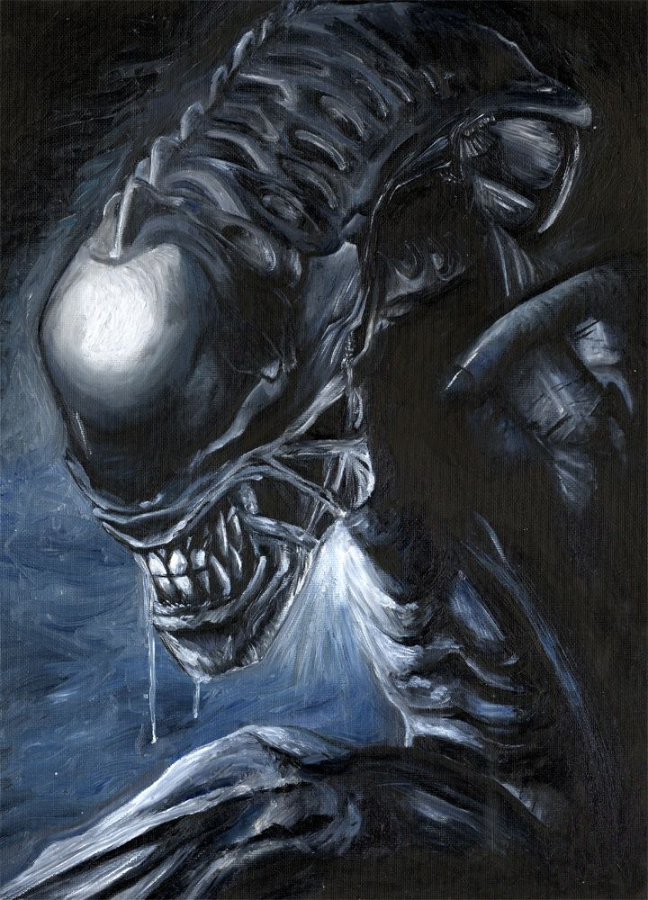 Xenomorph Alien Horror Movie Villain