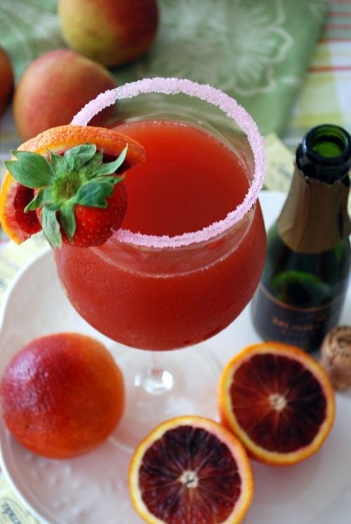 Blood orange mimosas. Please make me one somebody!