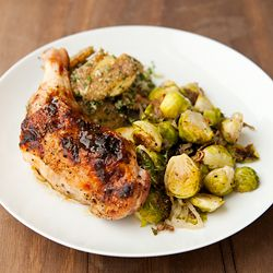 Think twice about passing over this miso butter roast chicken. It is ...
